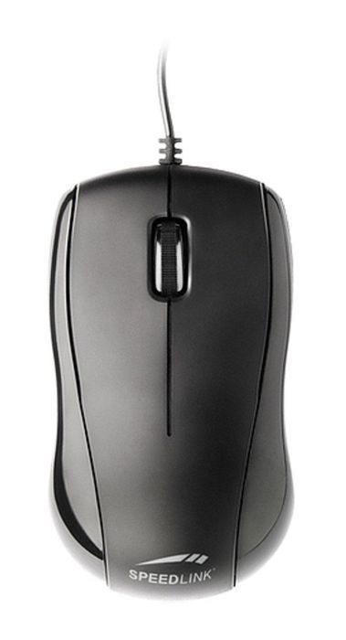 Speedlink (B-WARE)   Jigg 3-Tasten-Maus (für Rechts- und Linkshänder, 1000dpi, USB)