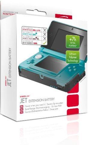 Speedlink (B-WARE) Jet Erweiterungs Akku für den Nintendo 3DS (verdoppelt die Spieldauer ohne lästiges Kabel)
