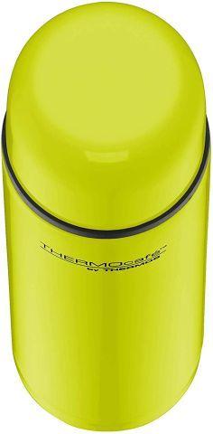 THERMOS Thermosflasche Edelstahl Everyday, Edelstahl lime 700ml, Isolierflasche 4058.277.075 auslaufsicher, Thermoskanne mit Becher hät 12 Stunden heiß, 24 Stunden kalt, BPA-Free
