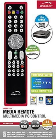 SPEEDLINK   Media Remote - Multimedia PC Control Windows XP/7/Vista