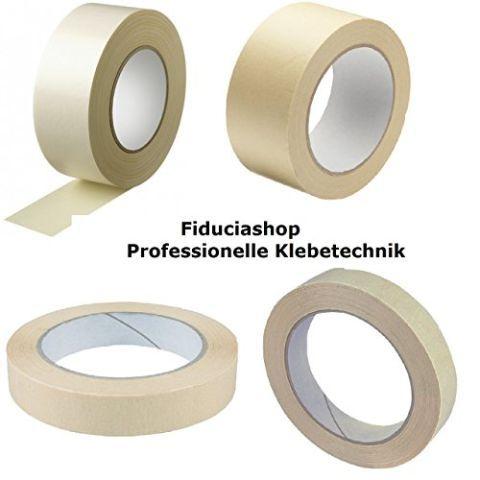 Profi Malerkrepp Abdeckband Kreppband Abklebeband Malerband (50m x 19mm)