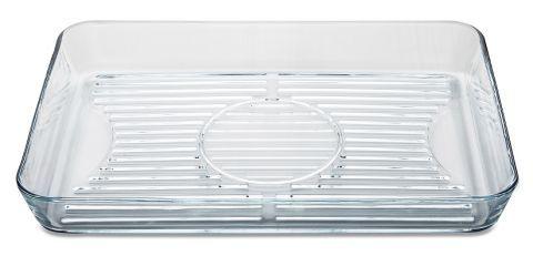 Masterchef XL Grill Auflaufform 40x27cm aus Glas Backofenform Mikrowellenschale