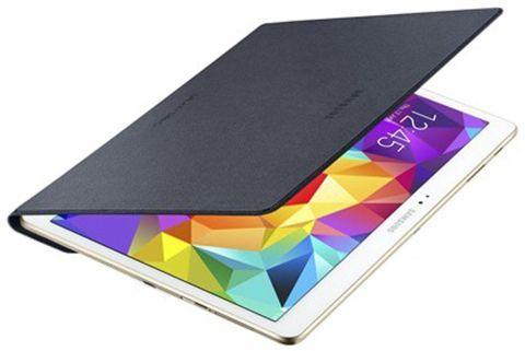 Samsung Tab S - Schutzhülle für Vorderseite, anthrazit - EF-DT800BBEGWW